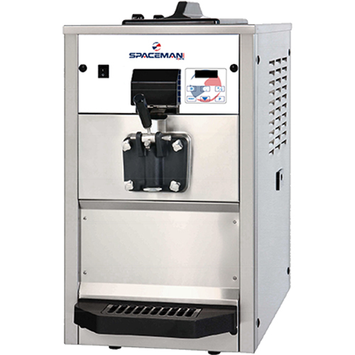 Countertop Ice Maker Made In Usa : Countertop Soft Serve Ice Cream Machine- 40 qt/hr (6236H Spaceman ...