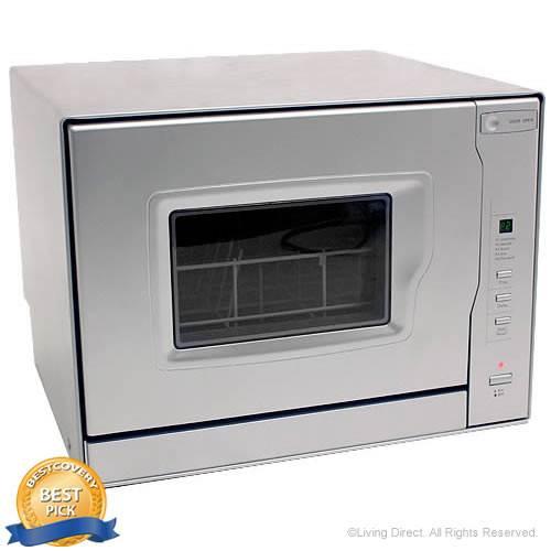 EdgeStar Portable Countertop Dishwasher with Digital Controls