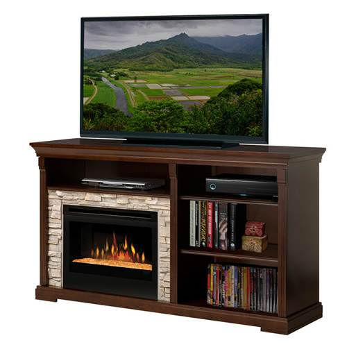 Real Flame Fresno Media Console Electric Fireplace Online Discount G1200ew
