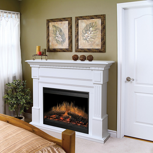 Dimplex Electric Fireplace Costco: Dimplex Essex Electric Fireplace Mantel