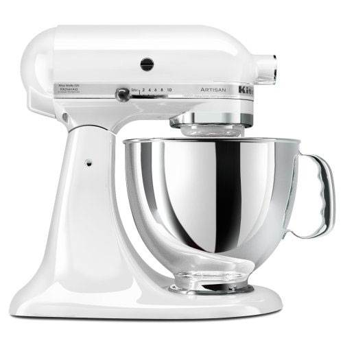 KitchenAid                                     Artisan Series Stand Mixer - White