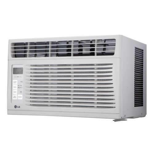 Lg 6 000 btu window air conditioner w remote 250 sq ft for 14 000 btu window air conditioner