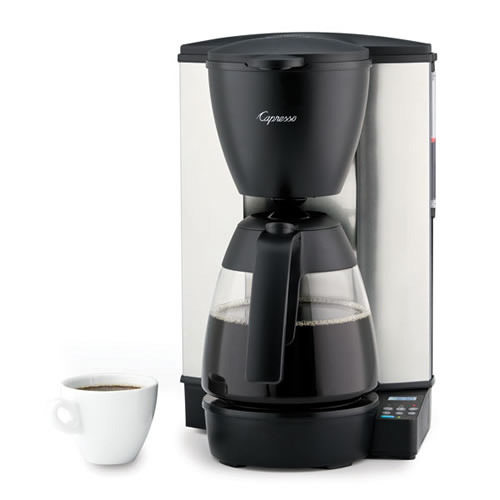 Glass Thermos Coffee Maker : Juracapresso Mg600 Plus 10 Cup Programmable Coffee Maker With Glass Carafe