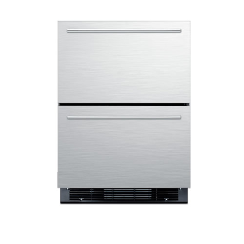 Summit Built-In                                     Two Drawer Refrigerator/Freezer