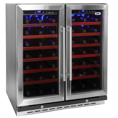 Summit 30 Inch Dual Zone Undercounter Wine Cooler Rhyzzy