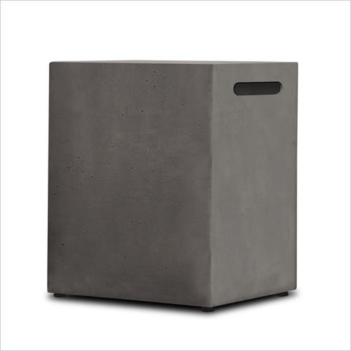 Real Flame Baltic Propane Tank Cover - Glacier Gray