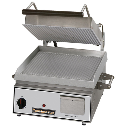 how to clean commercial panini grill